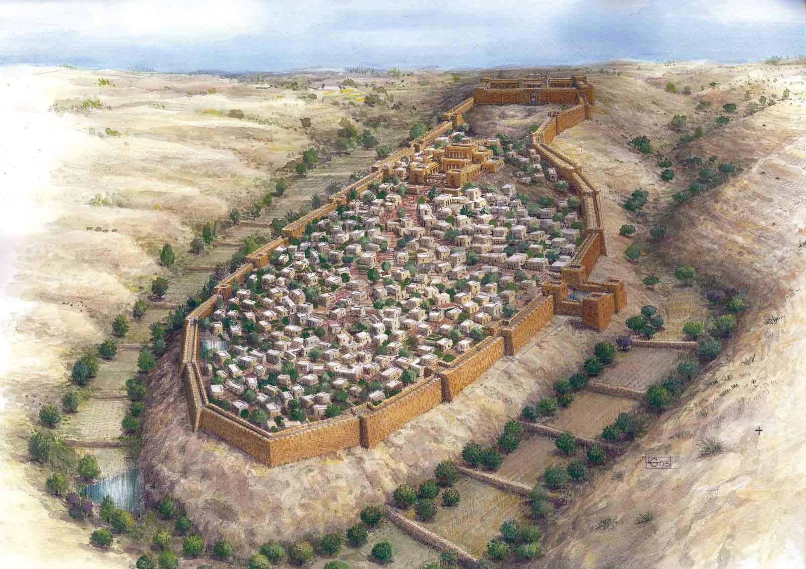 Muro de la época del Primer Templo, arrasado según relato bíblico, hallado intacto