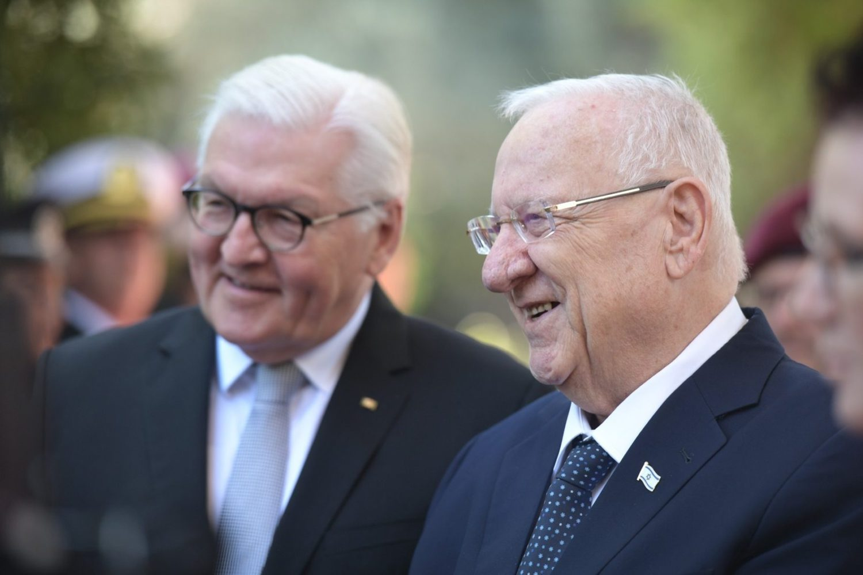 Presidente alemán a Rivlin: Nuestro objetivo es impedir que Irán tenga armas nucleares