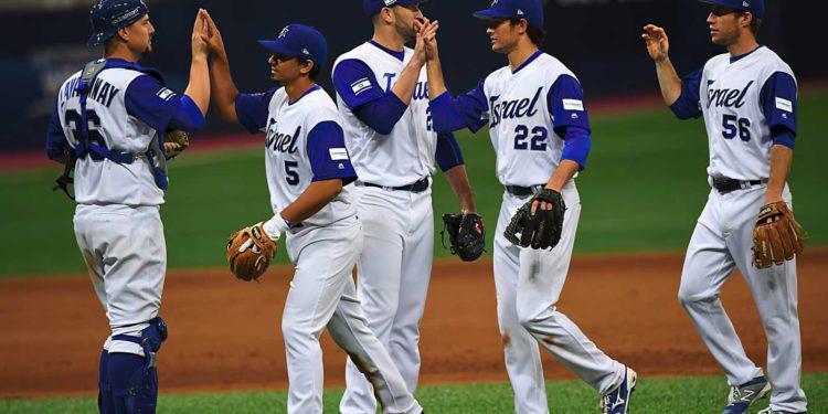 El equipo de béisbol de Israel se prepara para los Juegos Olímpicos de Tokio