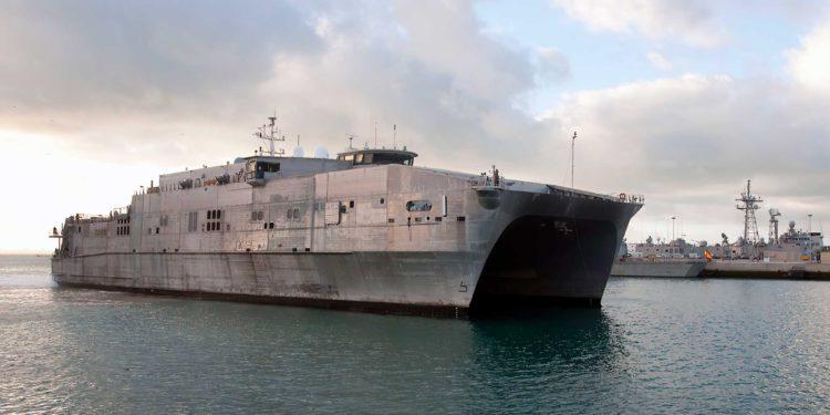 La Armada rusa rastrea un buque estadounidense en el Mar Negro