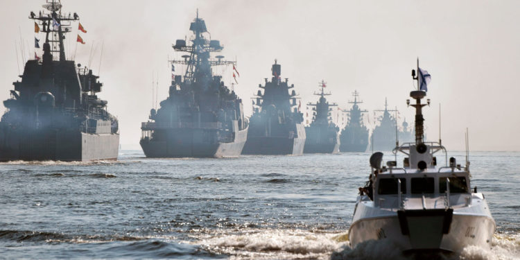 La marina rusa se prepara para la guerra en el Mar Negro