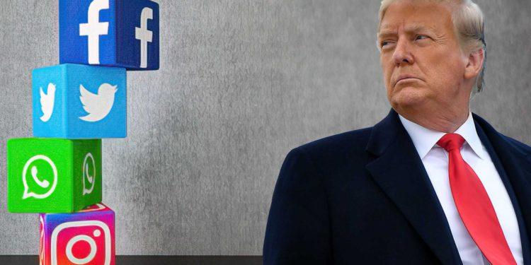 Trump demandará a presidentes de Facebook, Twitter y Google