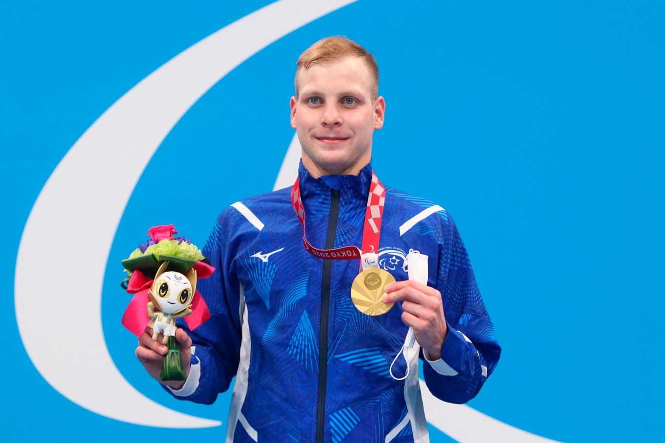 El nadador israelí Mark Malya gana su segundo oro en los Juegos Paralímpicos