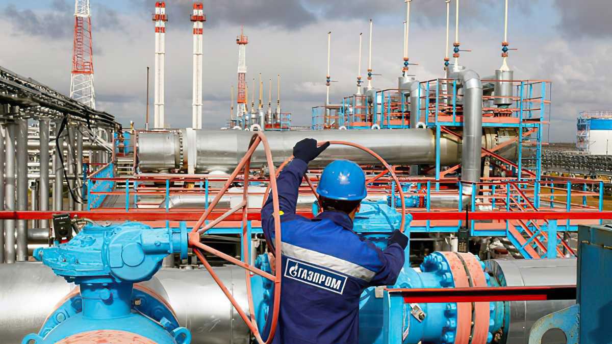 Gazprom de Rusia reduce el suministro de gas a los almacenes europeos