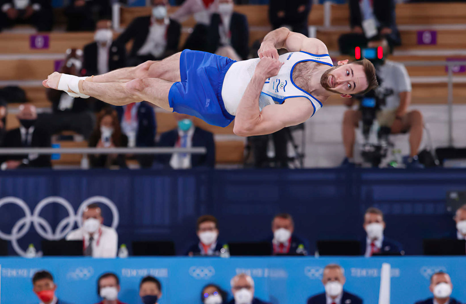 De Ucrania a Israel: La trayectoria del medallista de oro olímpico Artem Dolgopyat
