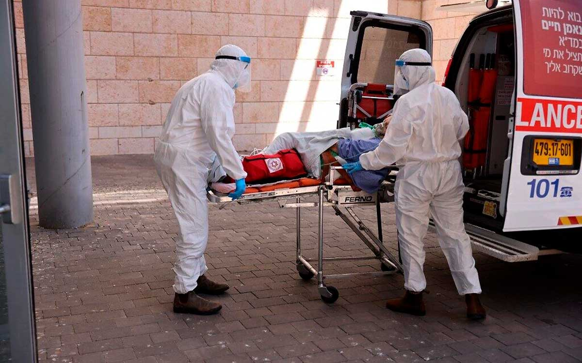 Israel registró casi 200 muertes por COVID la semana pasada