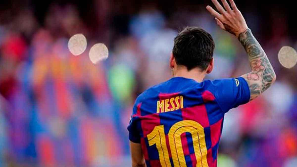 La superestrella del fútbol Lionel Messi no seguirá en el FC Barcelona