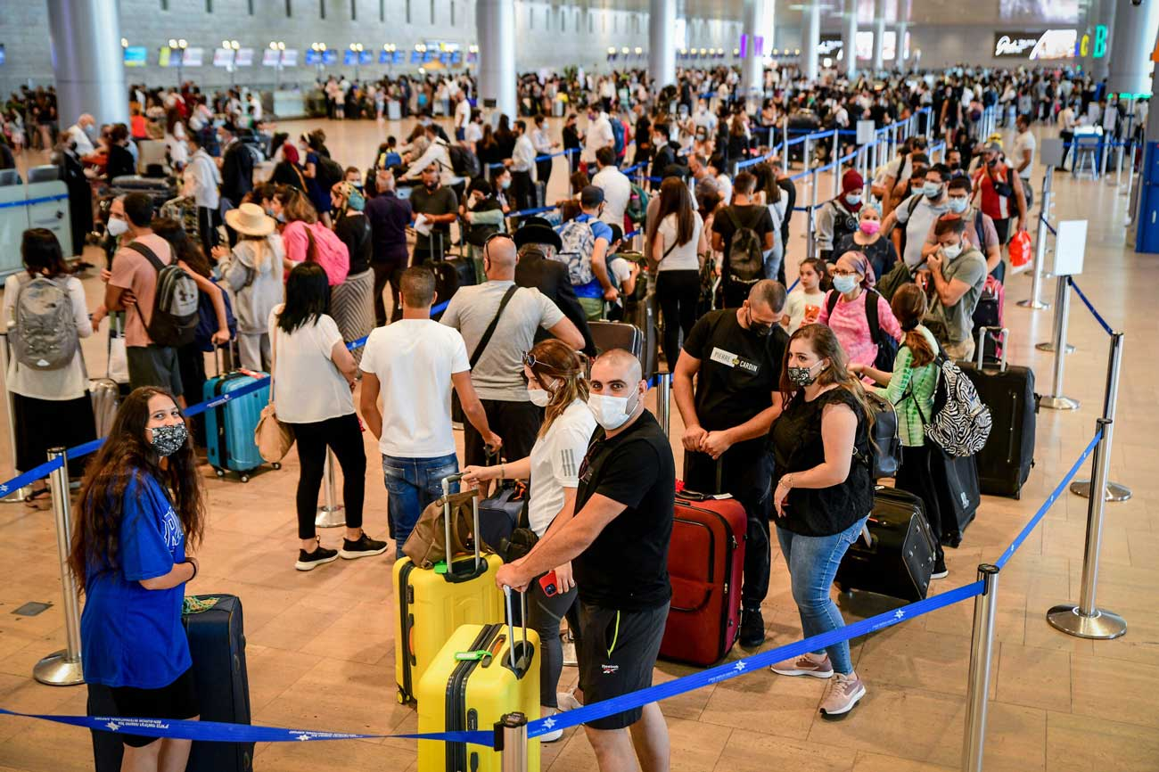 La Unión Europea impone restricciones de viaje a Israel debido al COVID