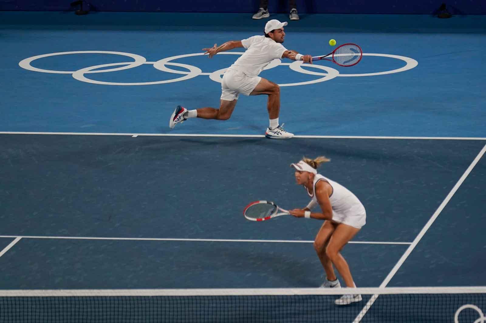 Tokio 2020: Tenista ruso-israelí gana la plata para Rusia en la final de dobles mixtos