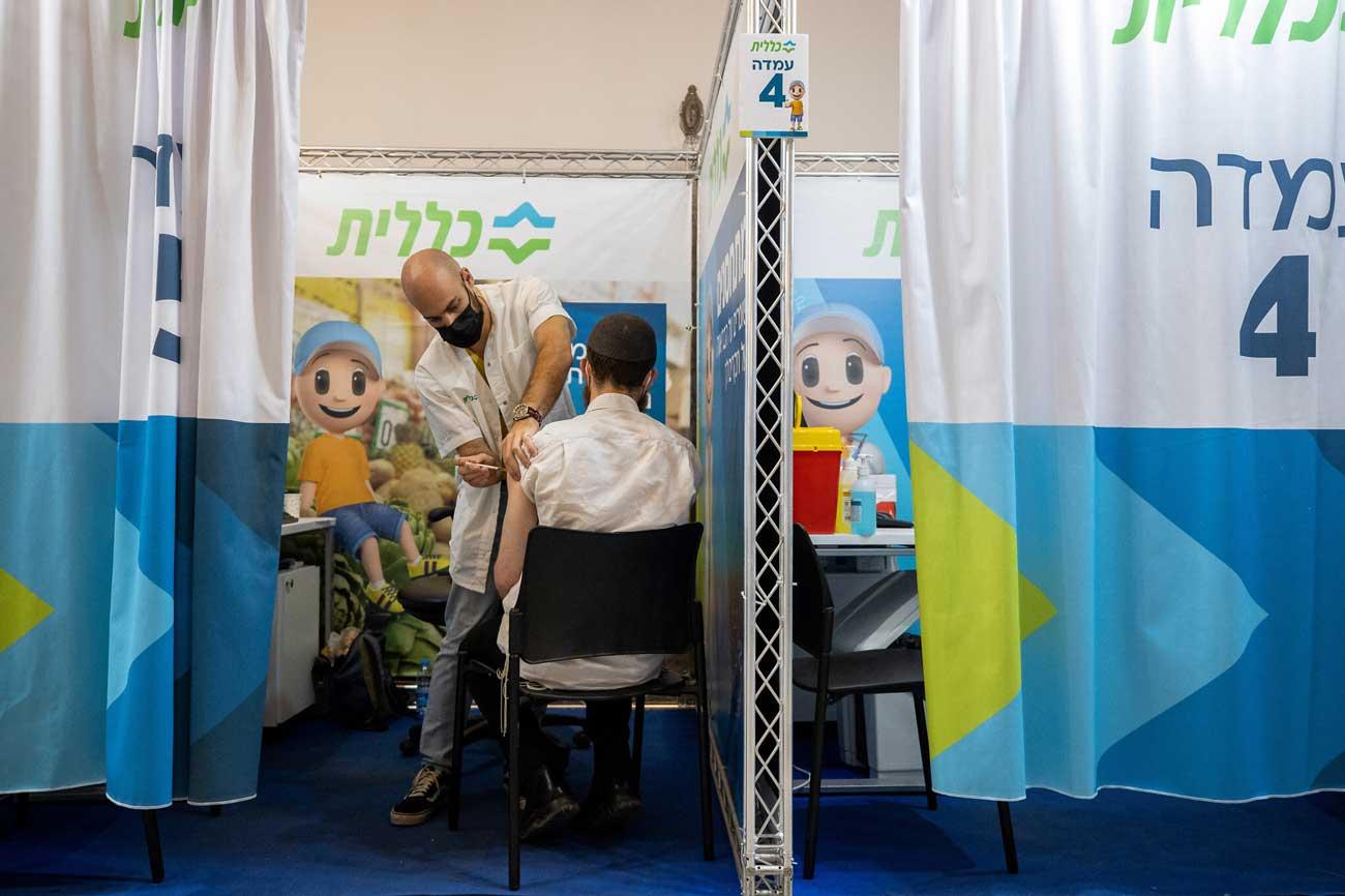 Covid-19 en Israel: La tasa de positividad alcanza el 7.8%, la más alta desde febrero