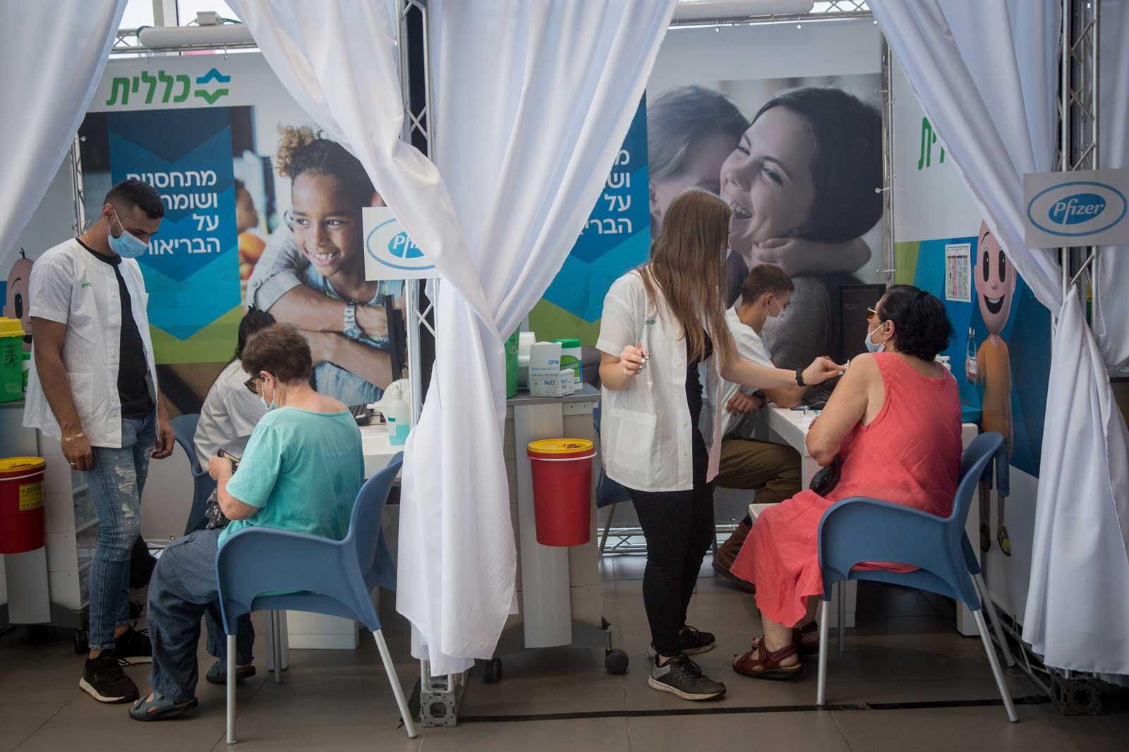 Covid-19 en Israel: La tasa de vacunación de refuerzo entre los jóvenes es baja