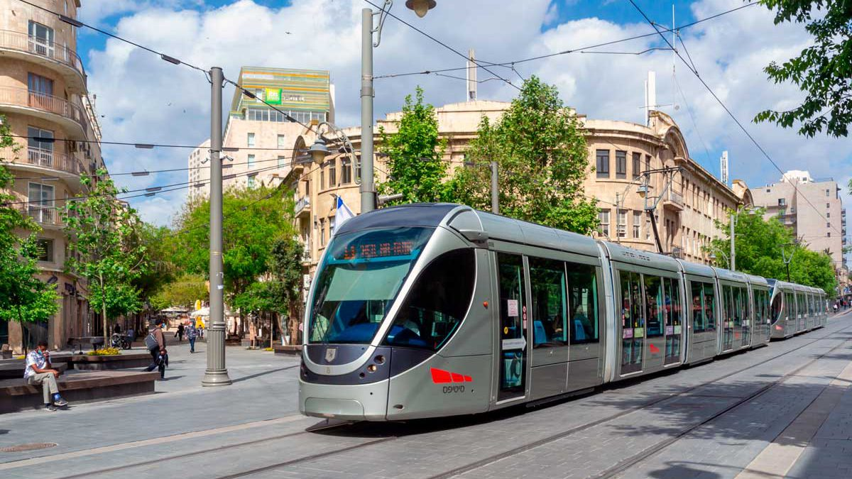 Tren ligero de Jerusalén: 5 grupos aprobados para licitación de líneas azul y púrpura