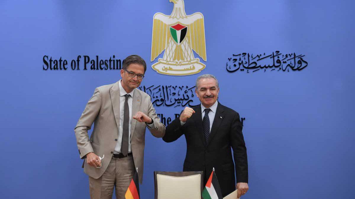 Alemania y la Autoridad Palestina firman un acuerdo de cooperación de $117 millones