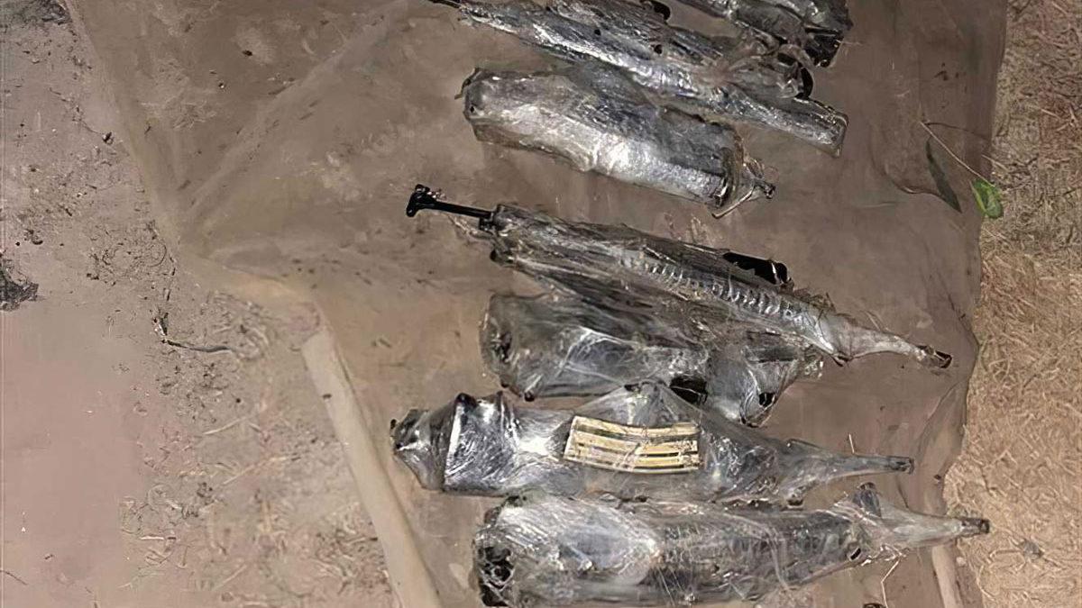 Las FDI frustran un intento de contrabando de armas