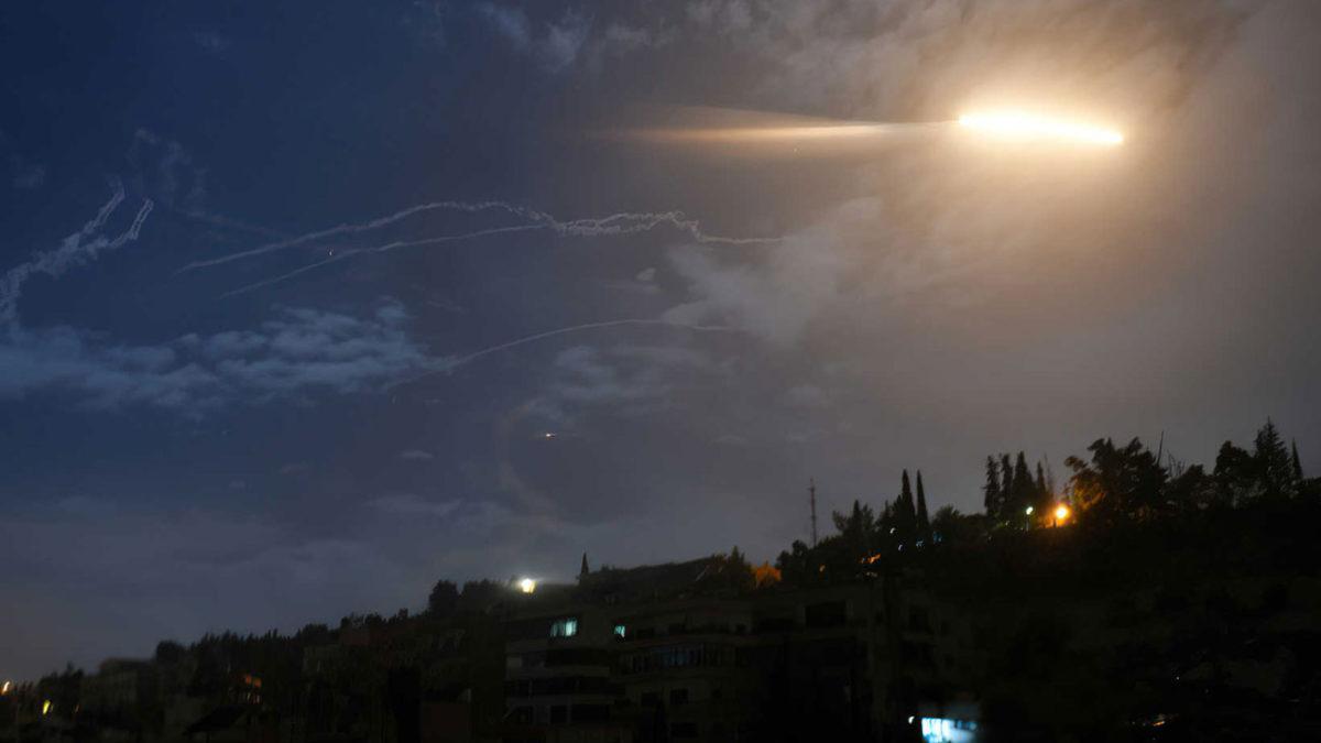 Misil sirio lanzado hacia Israel: restos encontrados en Tel Aviv