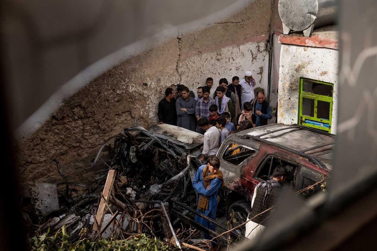 El último misil de Biden en Afganistán mató a una familia inocente: no al planificador del ISIS
