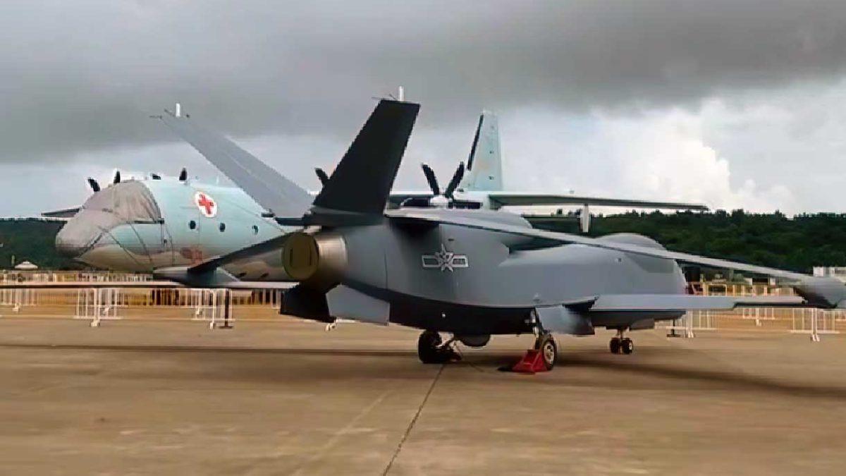 China presentará en el Salón Aeronáutico de Zhuhai un extraño avión no tripulado
