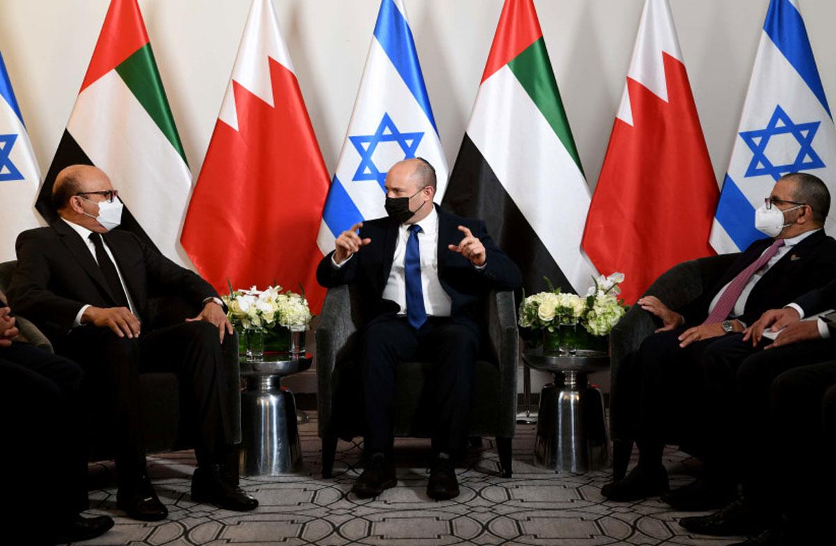 Bennett se reúne con ministro de Bahréin y los EAU antes de su discurso en la ONU