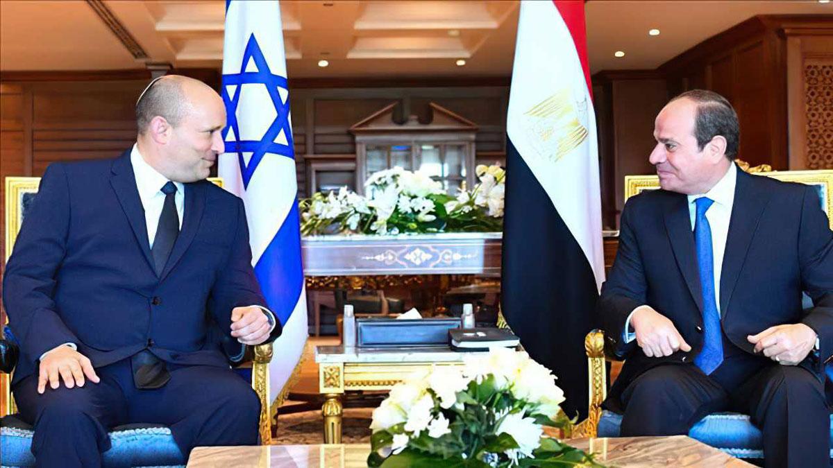Bennett sobre la reunión con Sisi: Sentamos las bases para lazos profundos