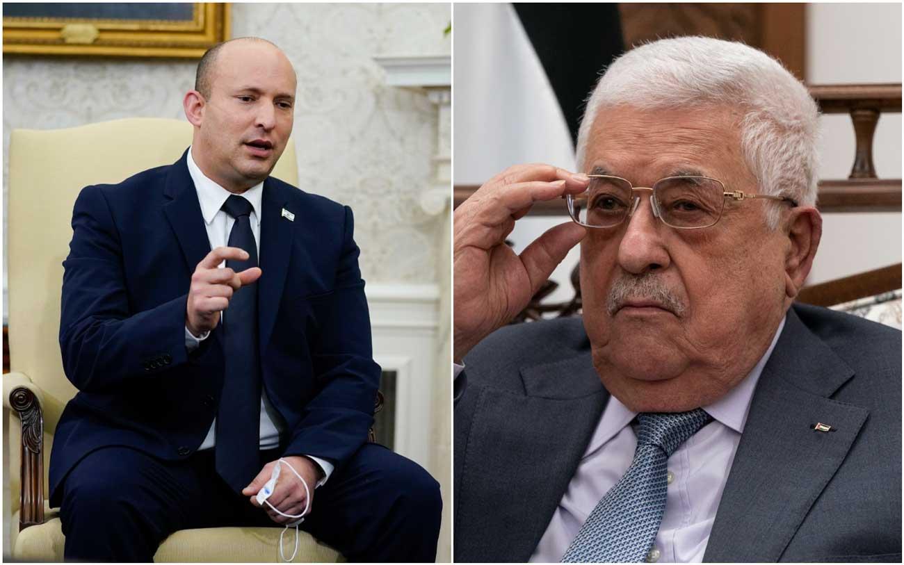 Bennett rechaza reunirse con el presidente de la Autoridad Palestina, Mahmoud Abbas