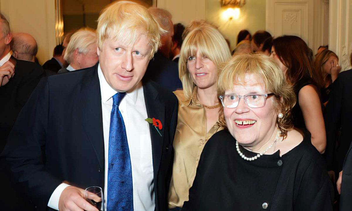 La madre del primer ministro británico Boris Johnson fallece a los 79 años