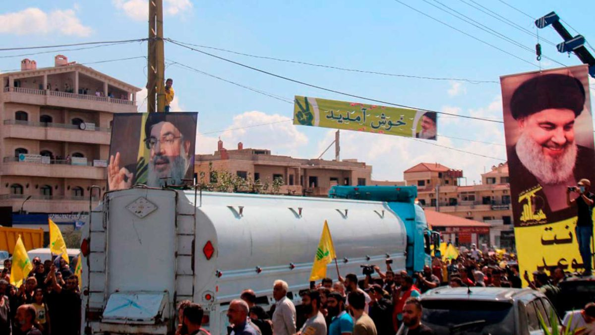 Los envíos de combustible de Irán violan la soberanía del Líbano