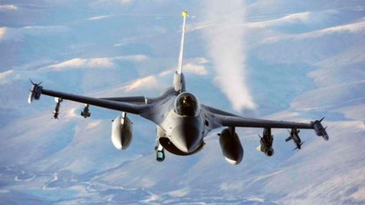F-16 intercepta un avión sobre Nueva York durante la Asamblea General de la ONU