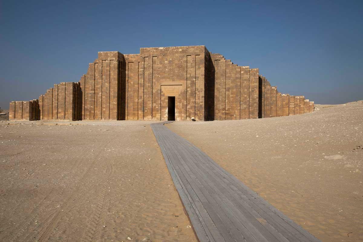 Egipto abre al público la tumba del faraón Zofer de 4.500 años de antigüedad