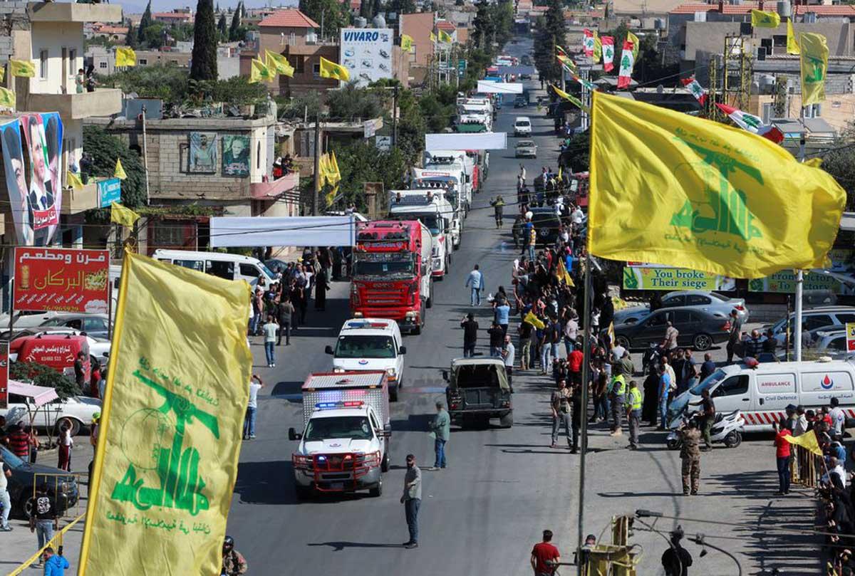 El grupo terrorista Hezbolá lleva petróleo iraní a Líbano a través de Siria