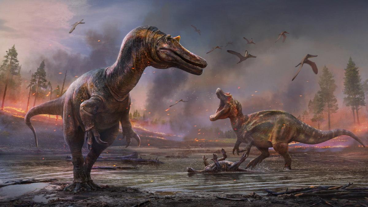 Descubren en Inglaterra fósiles de dos dinosaurios hasta ahora desconocidos