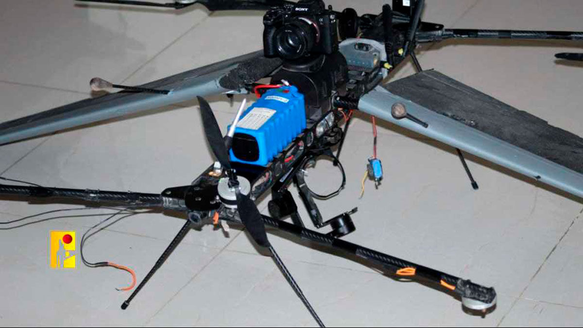 Dron de las FDI se estrella en el Líbano: Hezbolá dice haberlo derribado