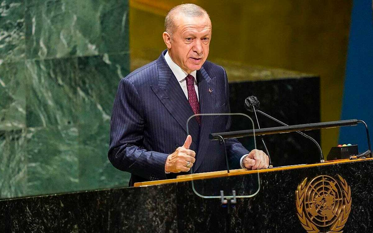 Erdogan critica el trato de Israel a los árabes palestinos en su discurso ante la ONU