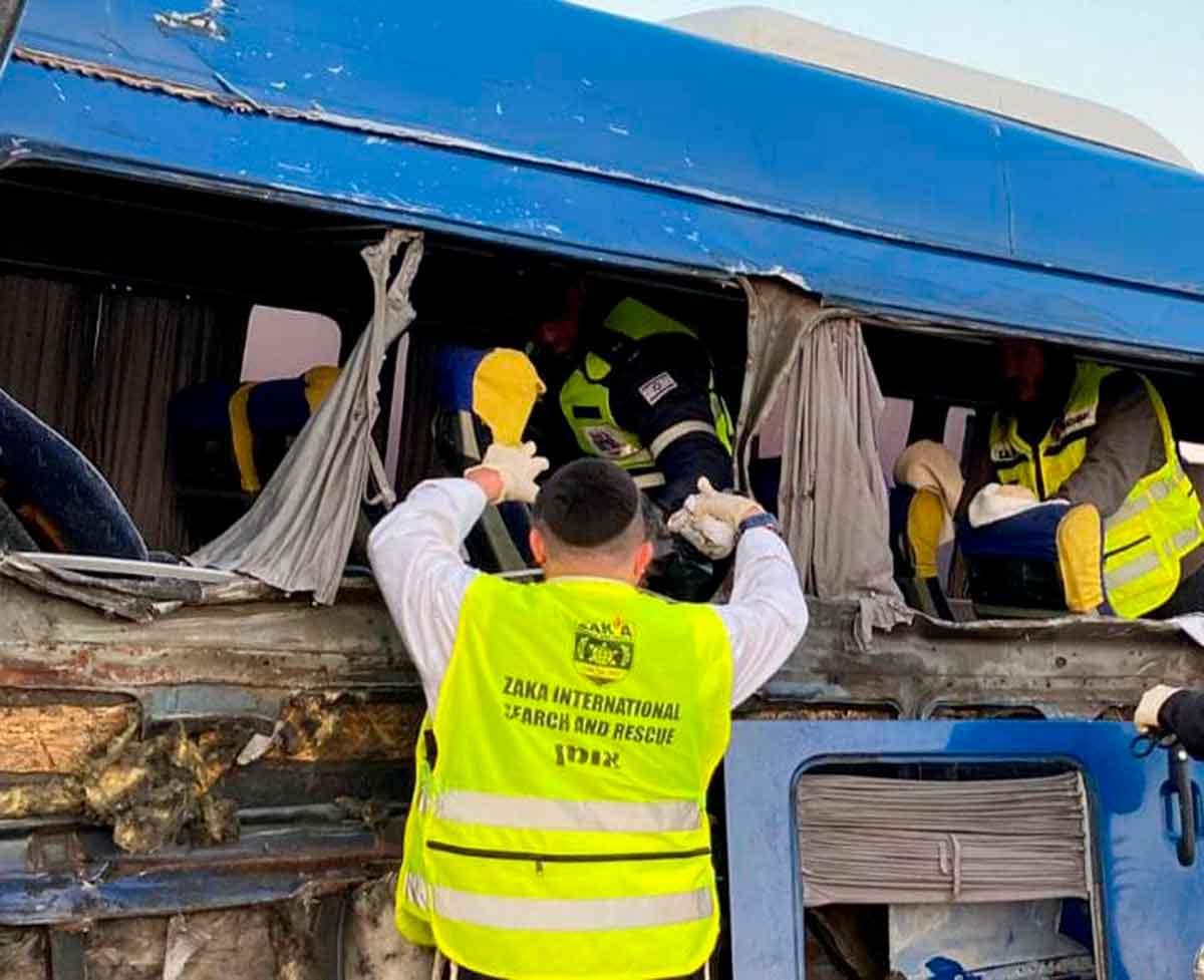 Israelí muere en un accidente de tránsito en Ucrania: regresaba a casa de Umán