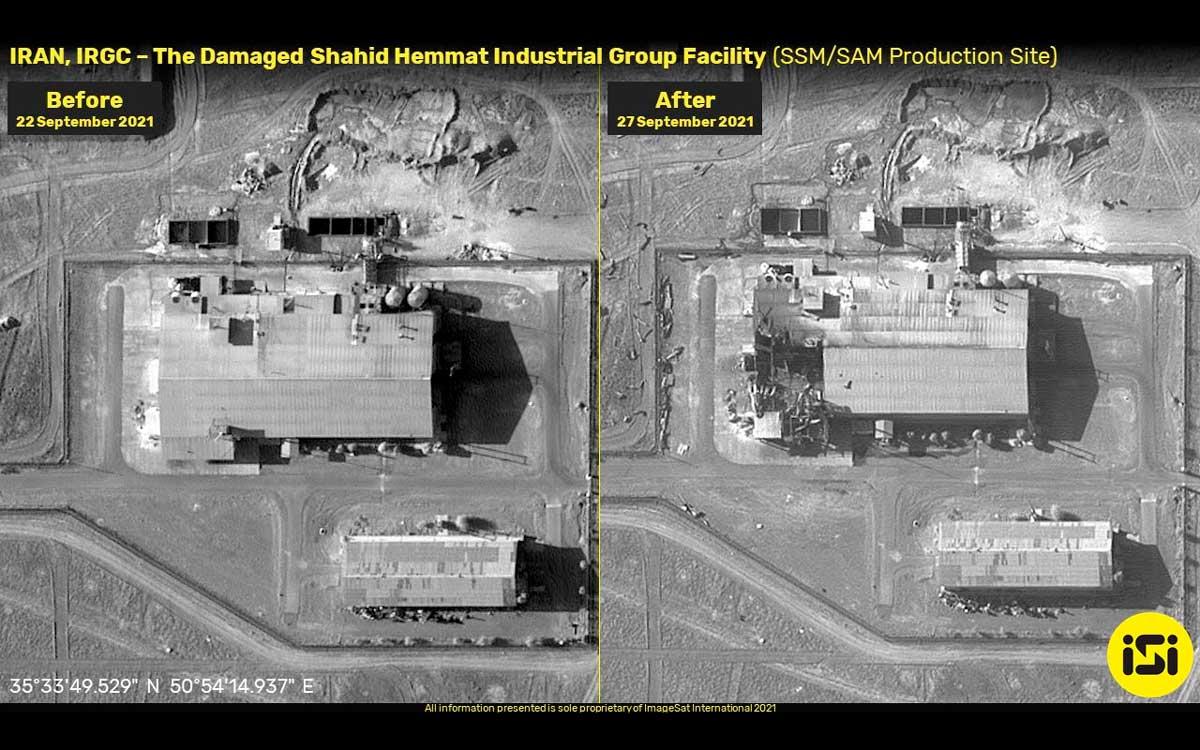 Incendio daña seriamente una base secreta de misiles del CGRI – Informe