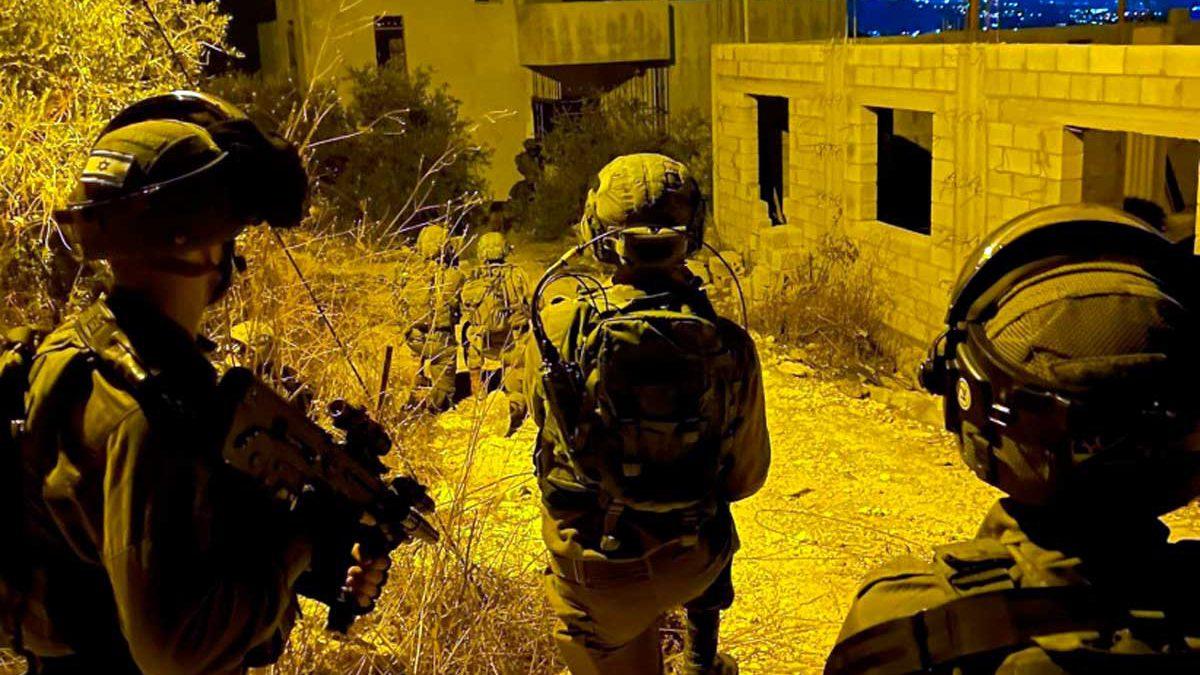 Israel intensifica las operaciones antiterroristas en Judea y Samaria