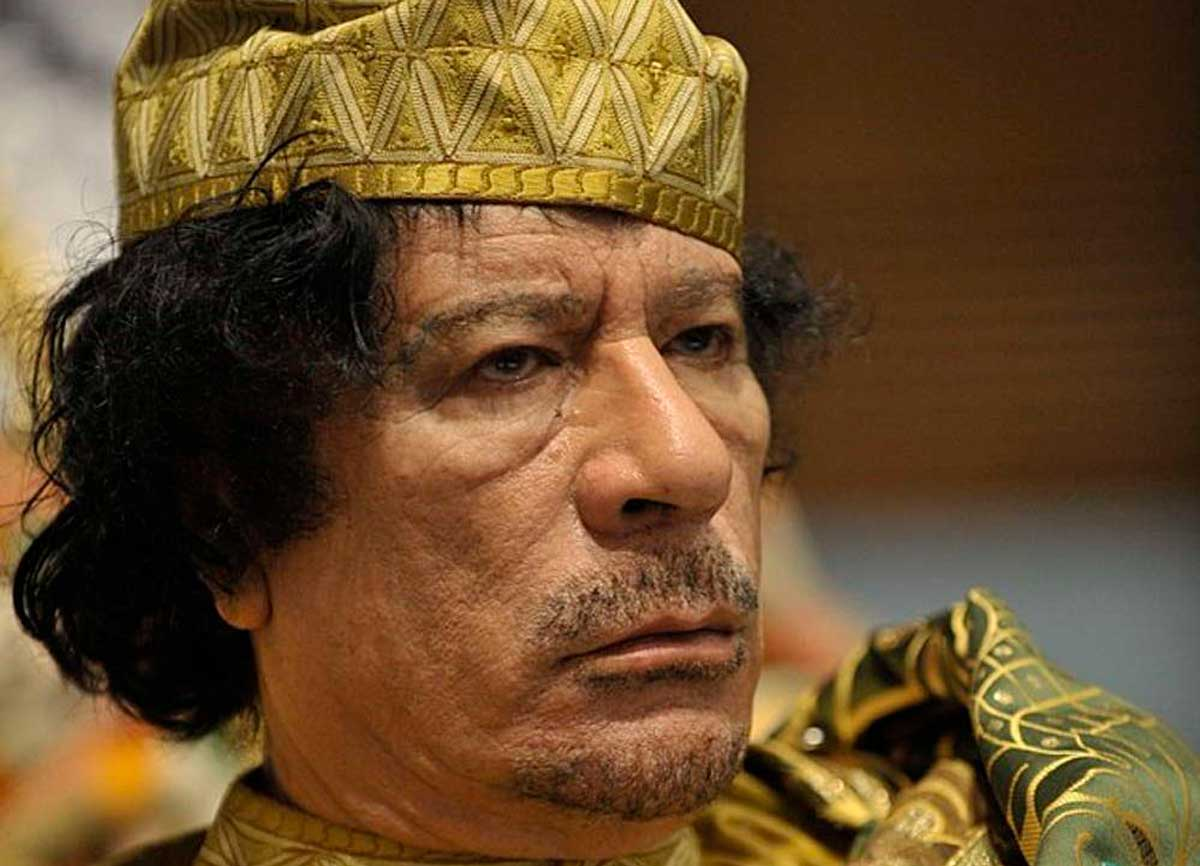 El hijo de Gadafi es liberado tras 7 años en una prisión libia