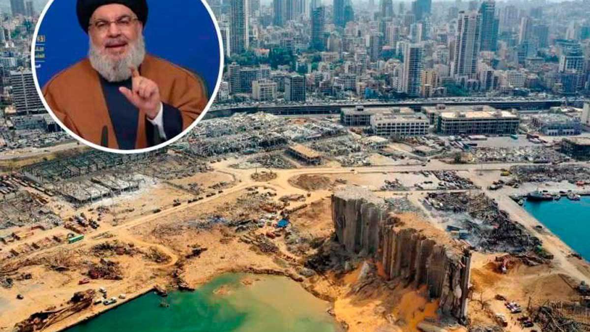 Hezbolá amenaza a juez que investiga la explosión en el puerto de Beirut