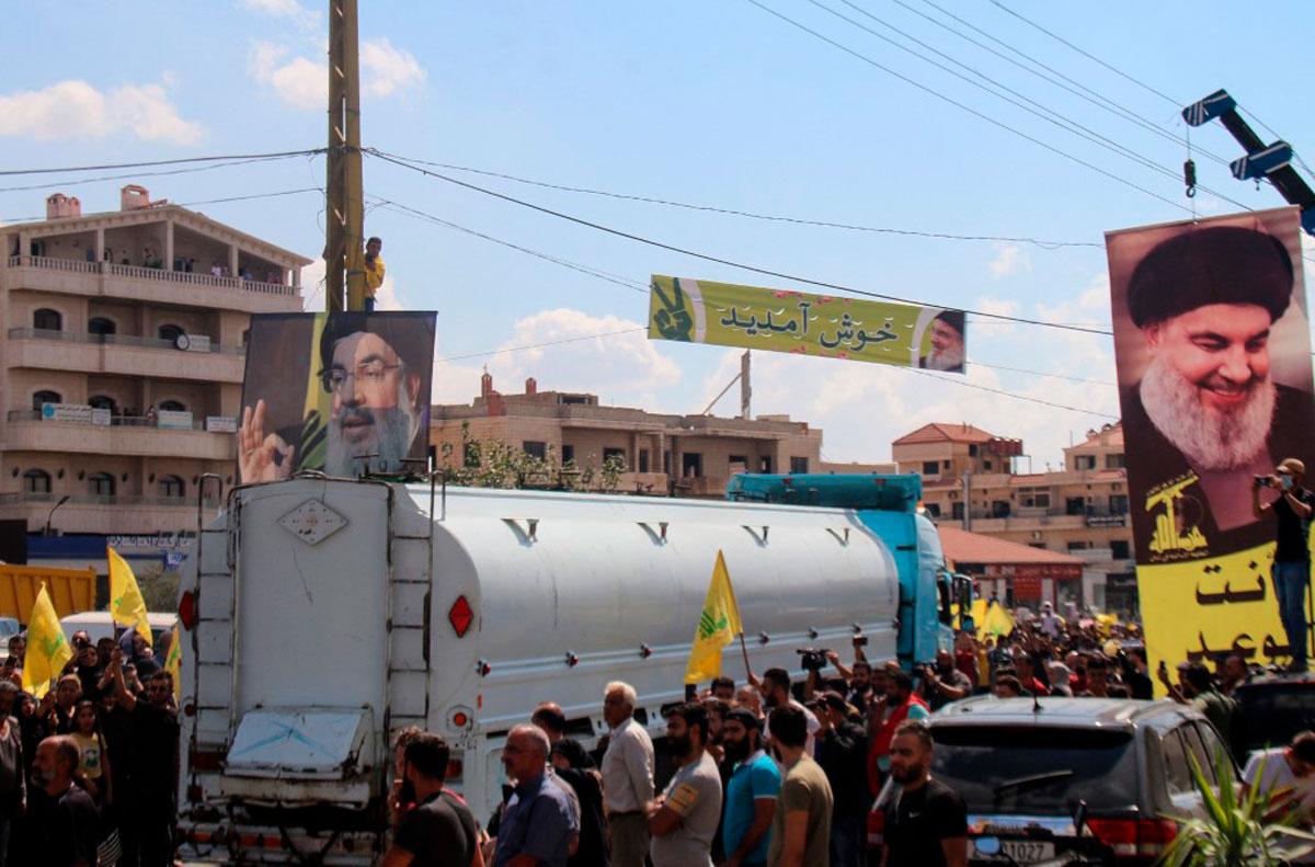 """Líbano dice que los envíos de petróleo iraní """"no fueron aprobados"""" por el gobierno"""