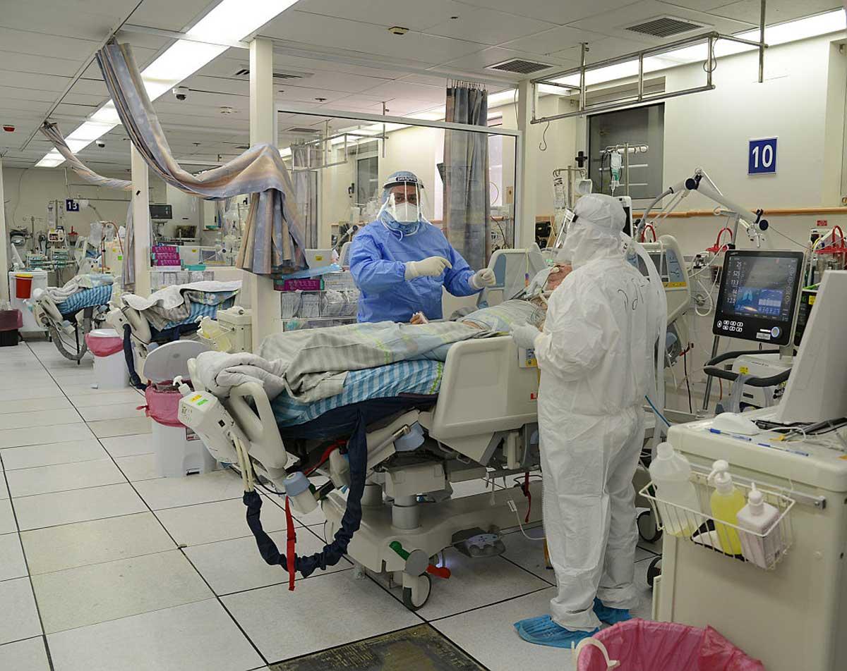 Covid-19 en Israel: Los hospitales requieren mayor personal médico y camas UCI