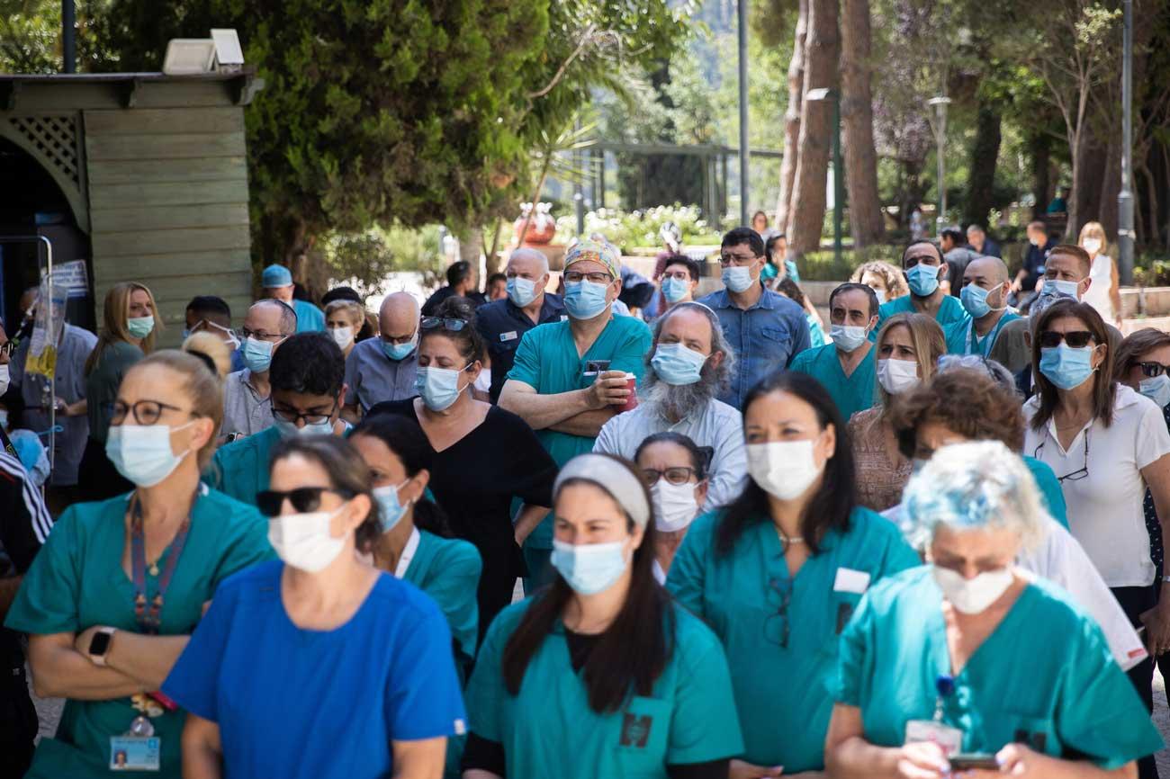 Covid-19 en Israel: Gobierno aprueba subvención de 55 millones de NIS para el personal médico