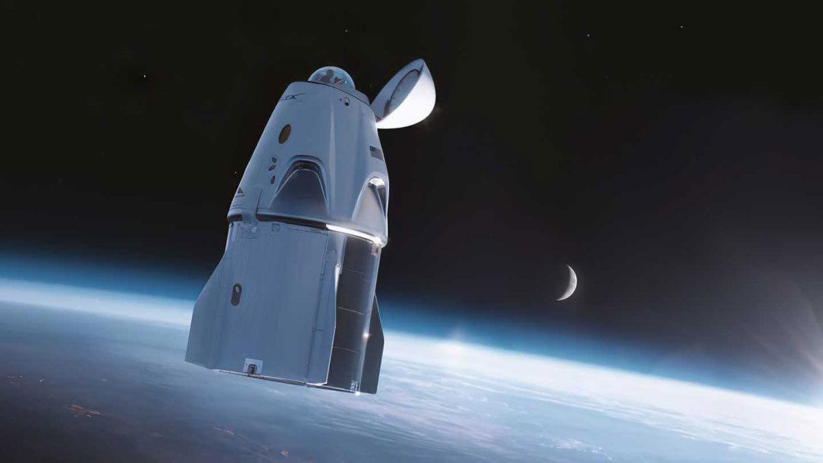 SpaceX hace historia al poner en órbita a la primera tripulación totalmente civil