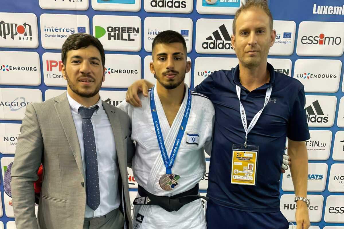 Israel gana el oro y el bronce en los Campeonatos Europeos Junior de Judo