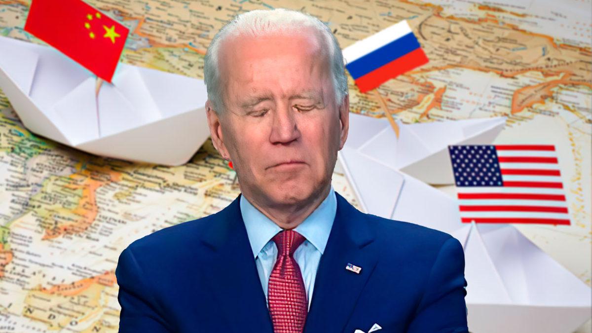 Sr. Presidente, despierte, su país se hunde... ¿Sr. Presidente?