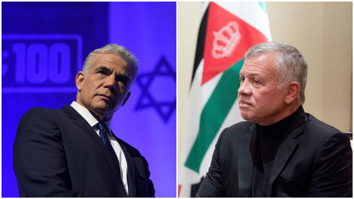 El rey de Jordania y el ministro de Relaciones Exteriores de Israel se reunieron en secreto