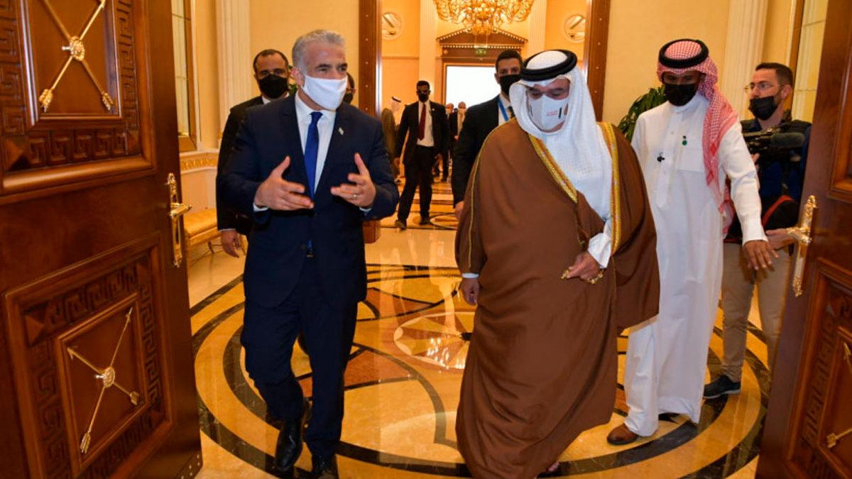 Canciller israelí se reúne con el príncipe heredero de Bahréin