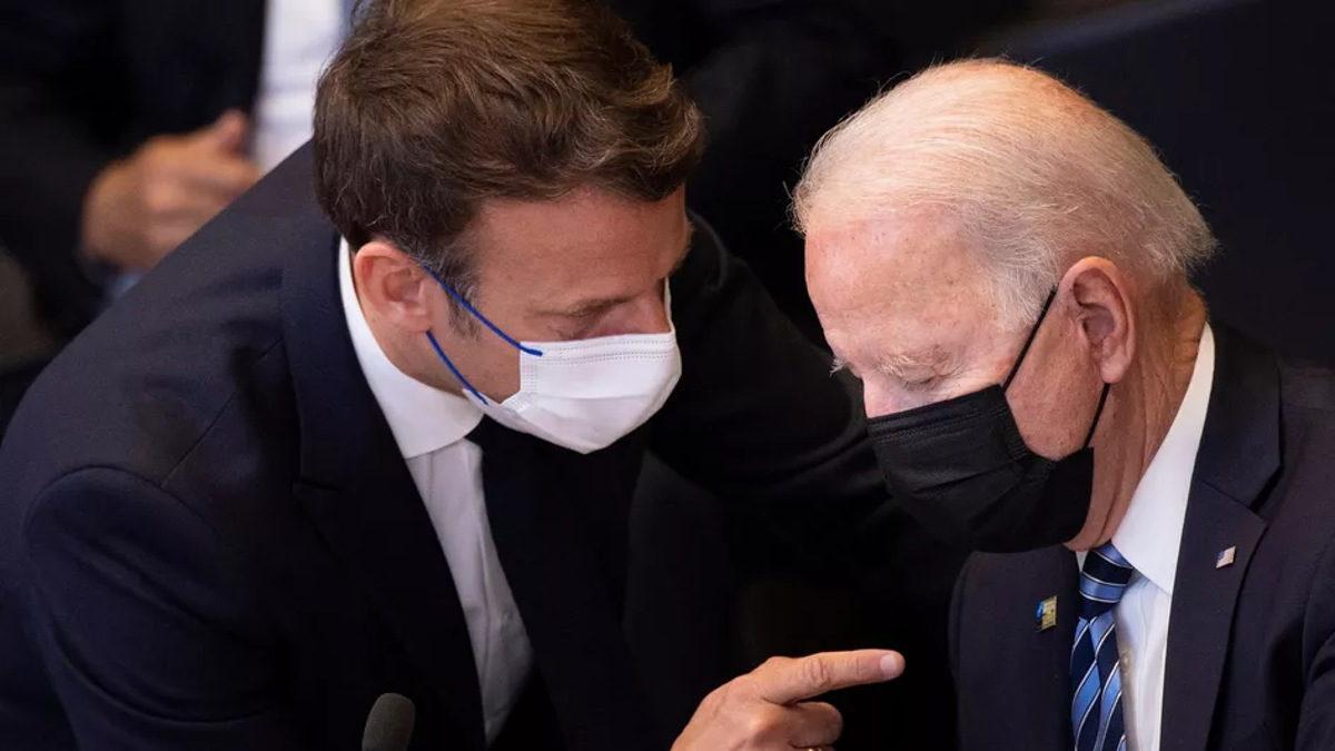 Macron y Biden hablarán en medio de tensiones entre Francia y EE.UU.