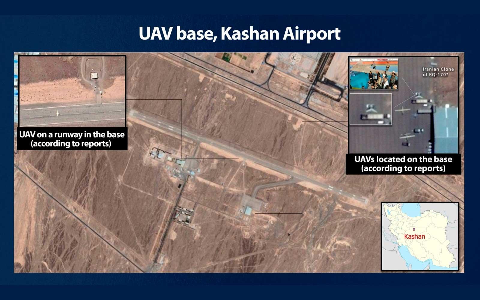 Irán entrena a grupos terroristas para que operen UAVs avanzados