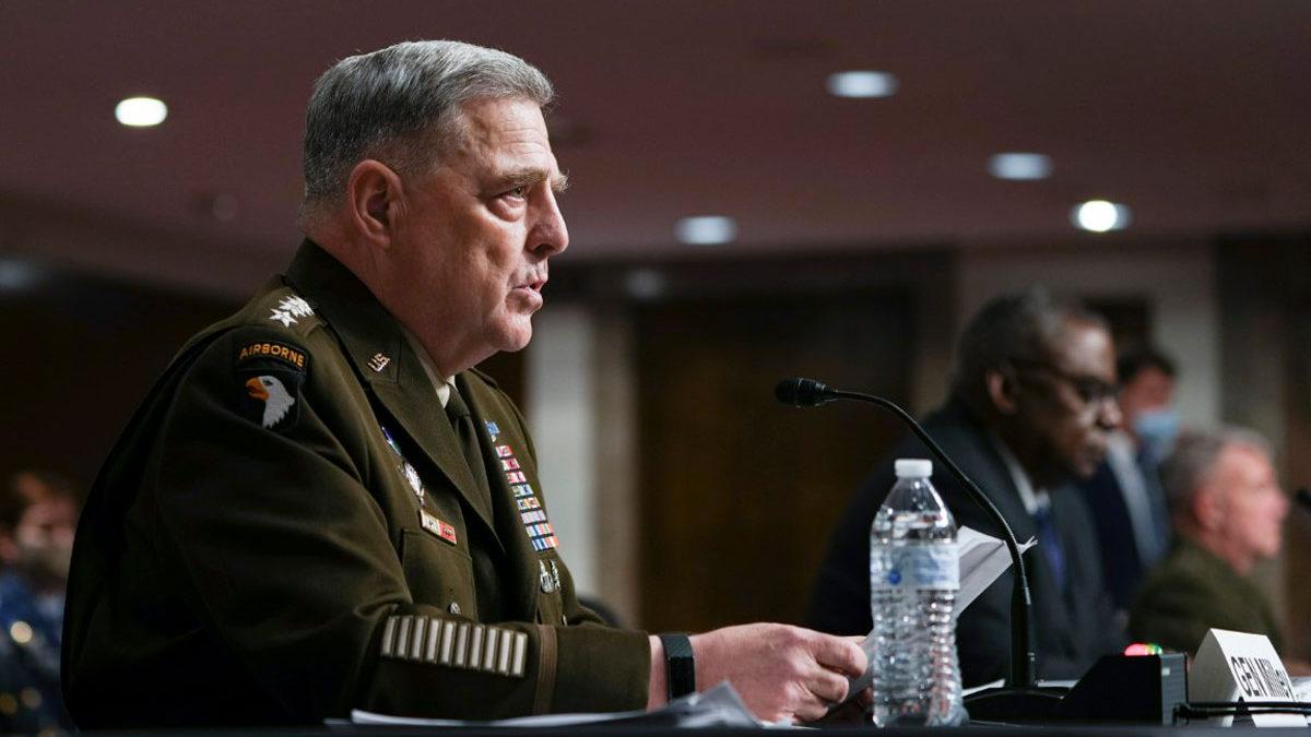 Milley: Al-Qaeda puede reconstruirse bajo los talibanes y suponer una amenaza para EE.UU.