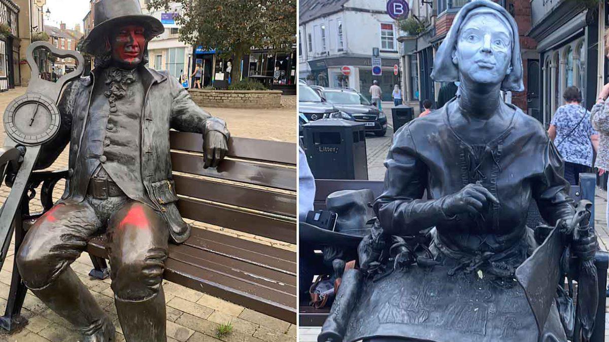 Histórica ciudad turística británica es objeto de pintadas antisemitas