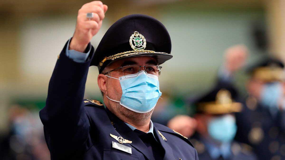 Jamenei nombra a un nuevo jefe de la Fuerza Aérea de Irán
